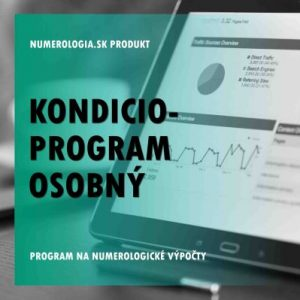 Kondicio-program Osobný