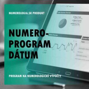Numero-program Dátum