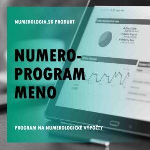 Numero-program Meno