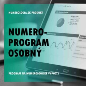 Numero-program Osobný Lite