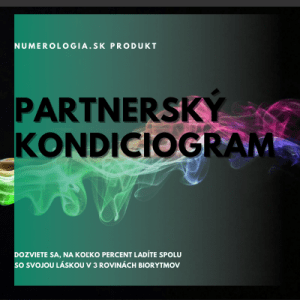 produkt partnerský kondiciogram