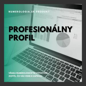 produkt profesionálny profil