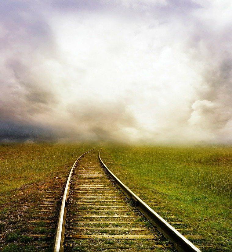 železničná cesta k svetlu