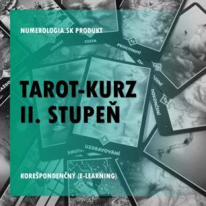 Tarot-kurz II. stupeň