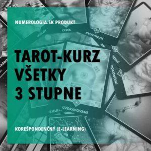 Tarot-kurz všetky 3 stupne